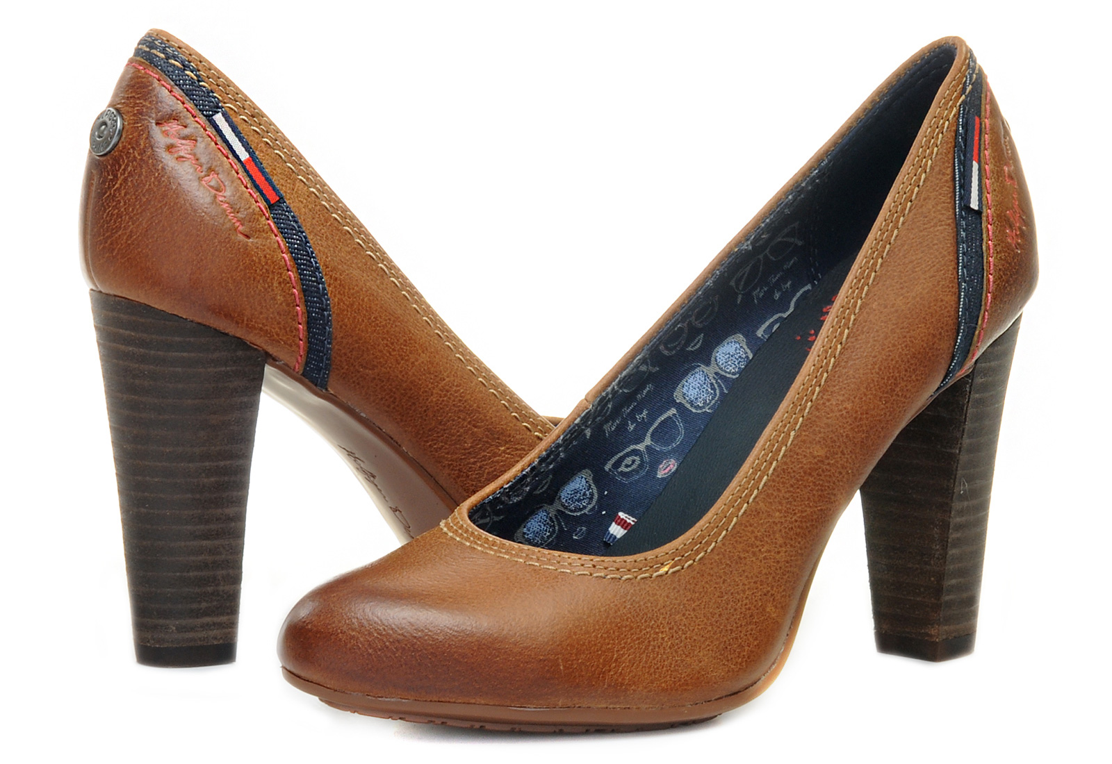 tommy hilfiger high heels jo 7a 13f 6210 606 online. Black Bedroom Furniture Sets. Home Design Ideas