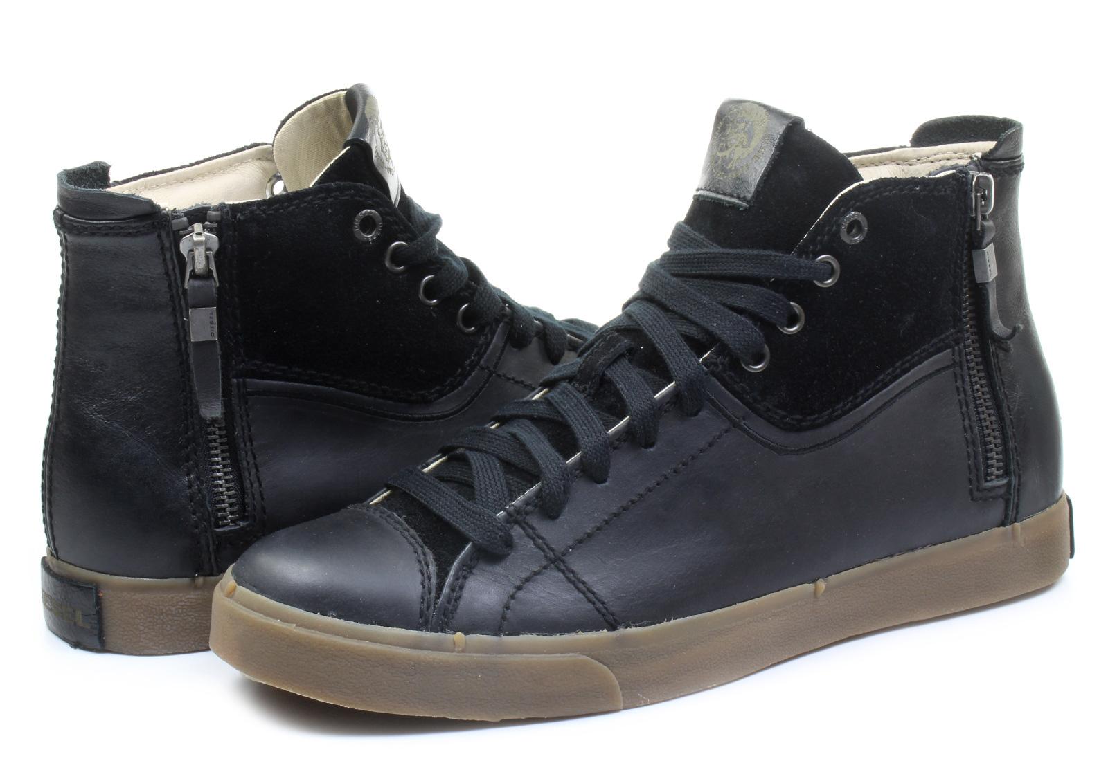 Diesel Black Shoes