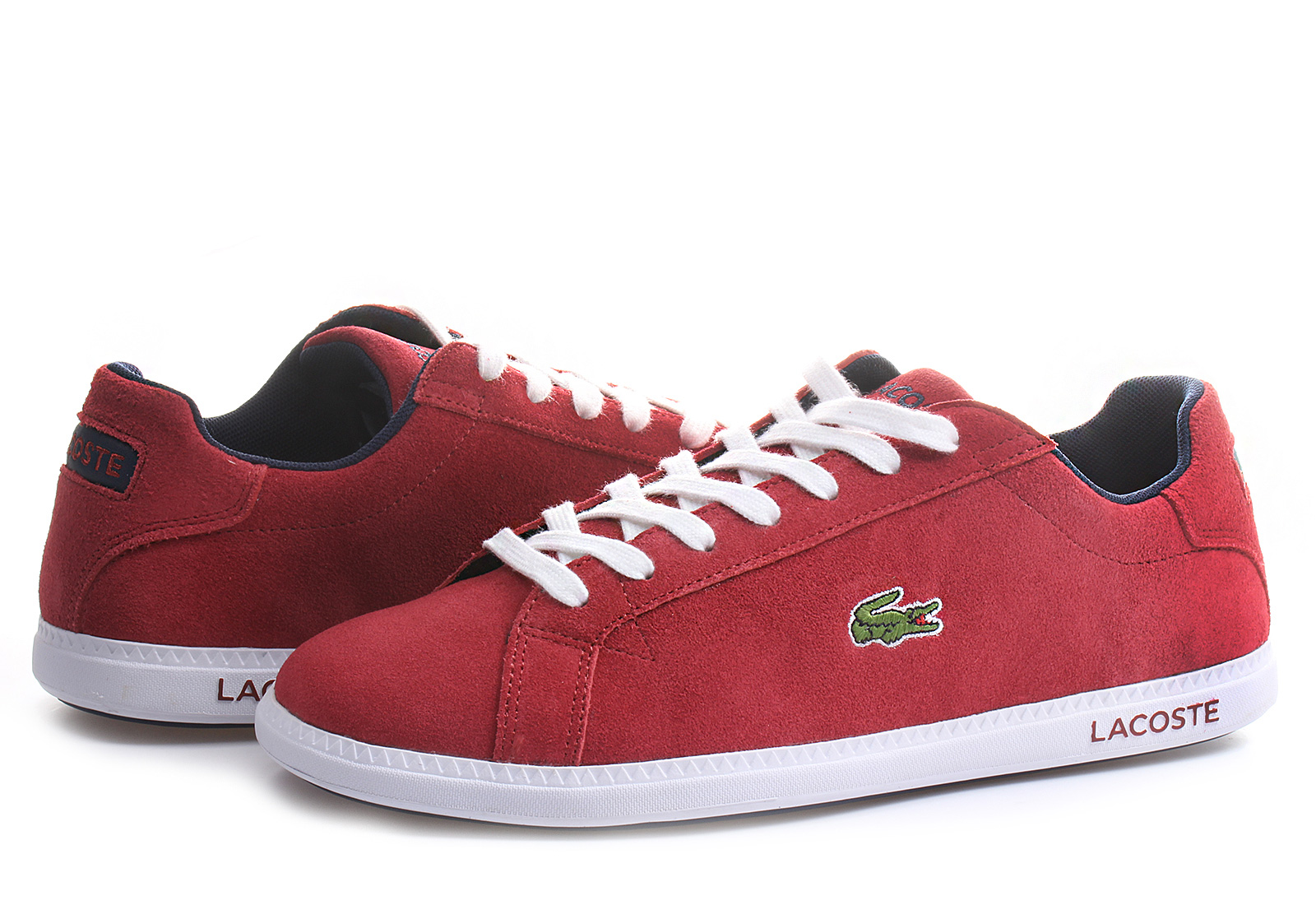 lacoste shoes graduate lacoste men shoes street shoes red suede shoes