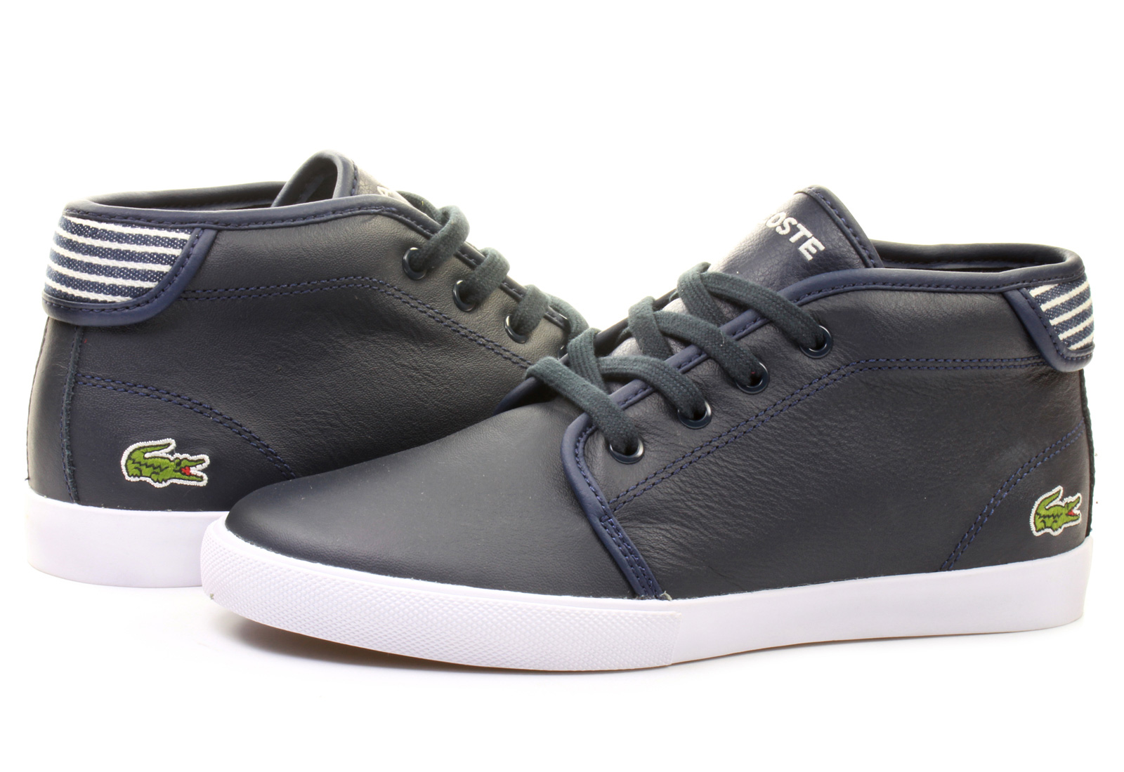 lacoste shoes ampthill 141spw0130 121 online shop for sneakers shoes and boots. Black Bedroom Furniture Sets. Home Design Ideas