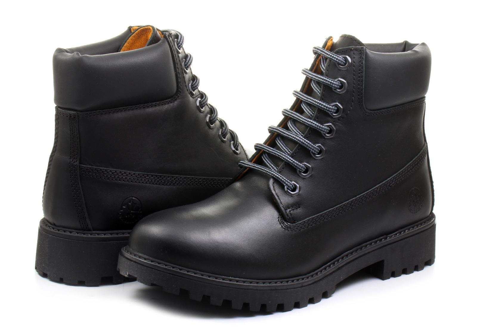 Online Designer Lumberjack Boots River Vi M01012 B01 Blk Online Shop