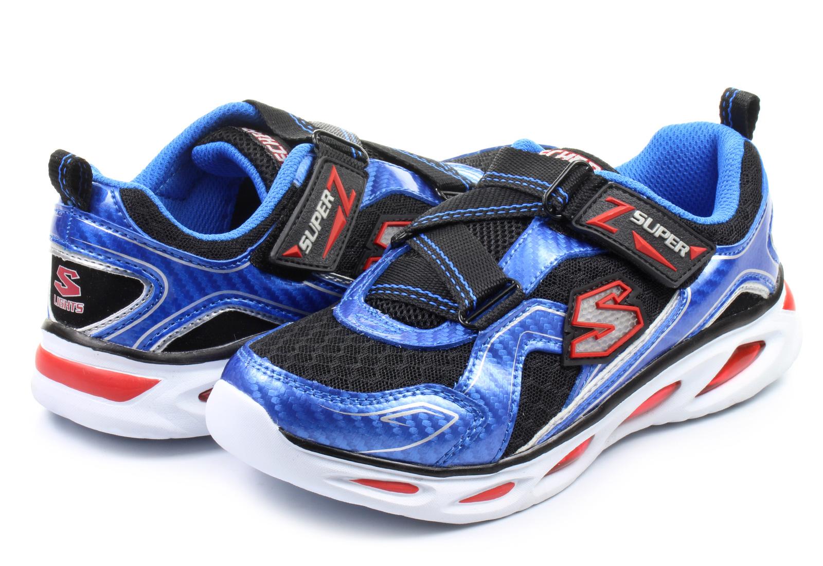 skechers shoes ipox light up 90385l blbk online shop for. Black Bedroom Furniture Sets. Home Design Ideas