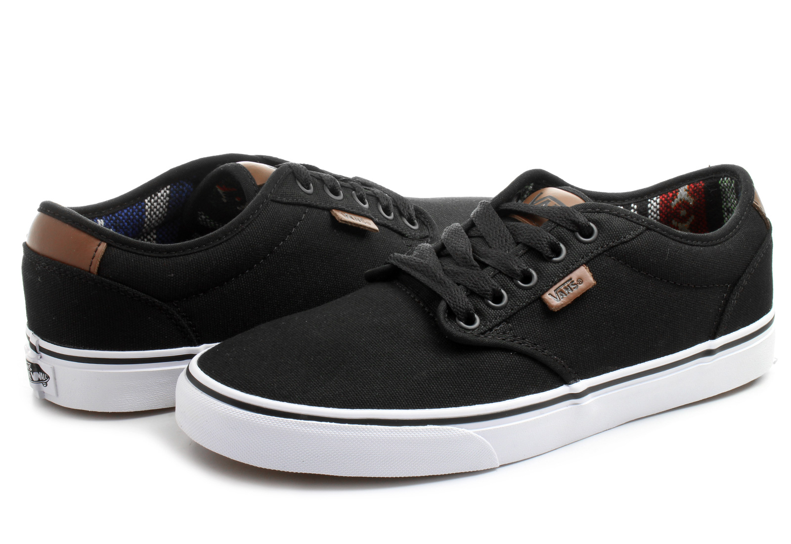 Vans Black Atwood Shoes