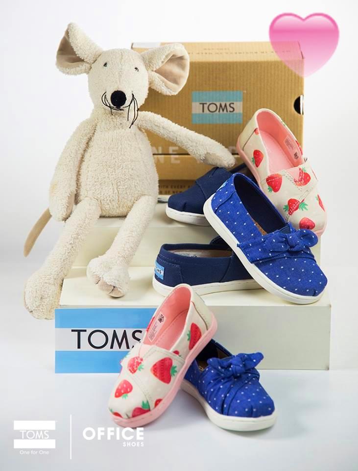 Značka TOMS v Office Shoes! 1ab1d991dd1
