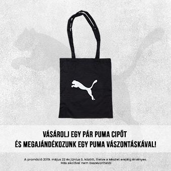 cf3b64e4c21f Minden Puma cipő mellé ajándék Puma táska!