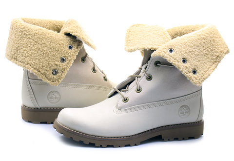 Timberland Topánky - 6 Inch Shearling Boot - 21926-WHT - Tenisky ... eee8ad8ea66
