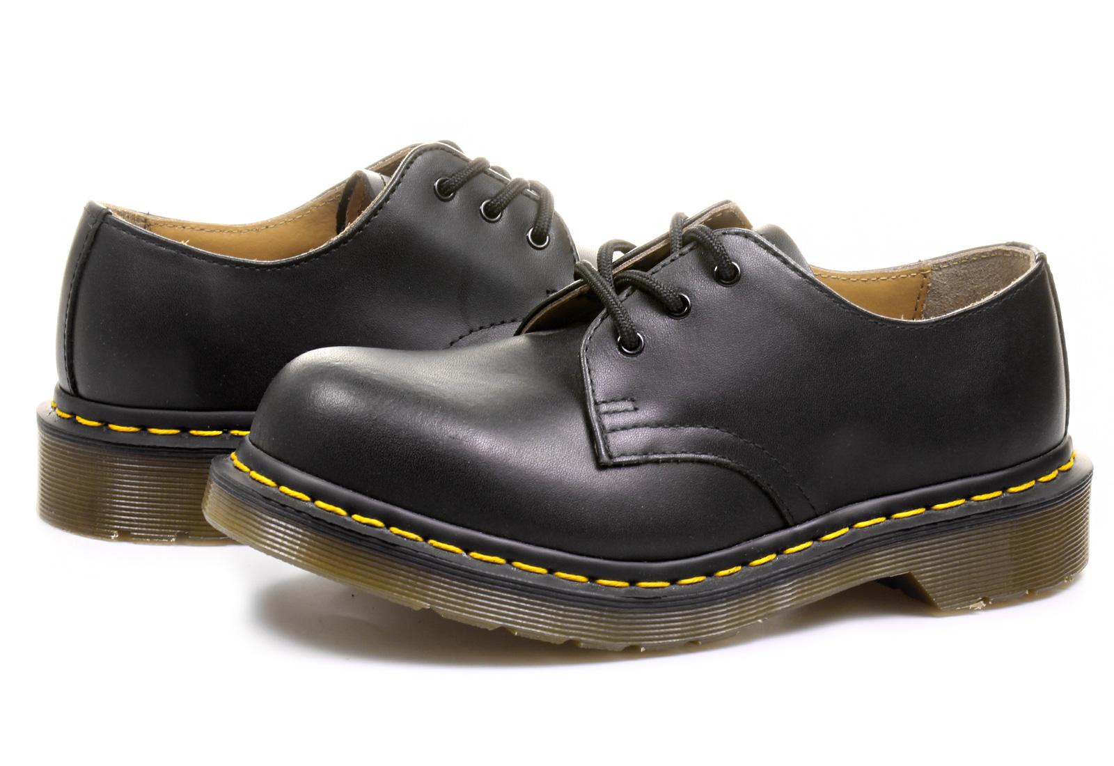 Dr Martens Cipő - 3 Eye Shoe - 10111001 - Office Shoes Magyarország ca0bc6e15a