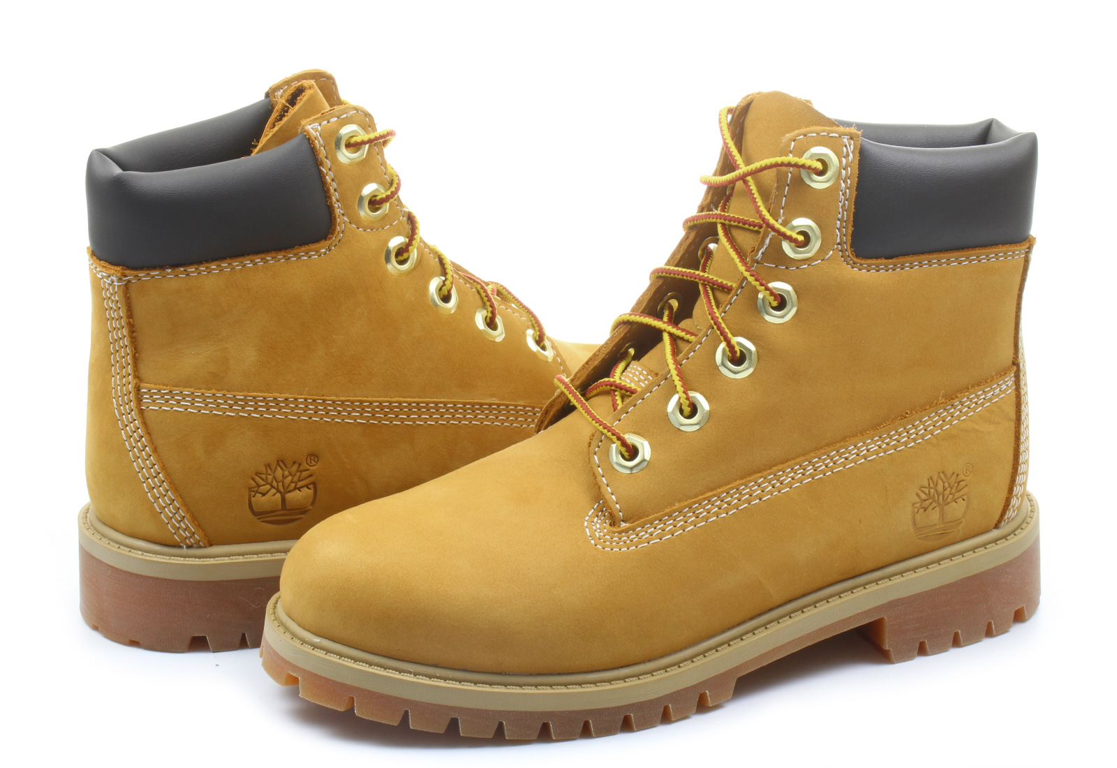 Timberland Bakancs - 6 Inch Prem Boot - 12909-WHE - Office Shoes ... 8692436e57