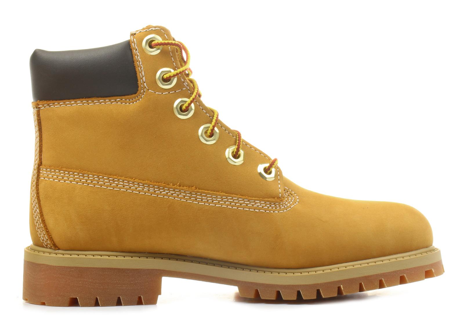 Timberland Boty Farmářky - 6 inch Premium Boot - 12909-WHETenisky ... 00ed046df09