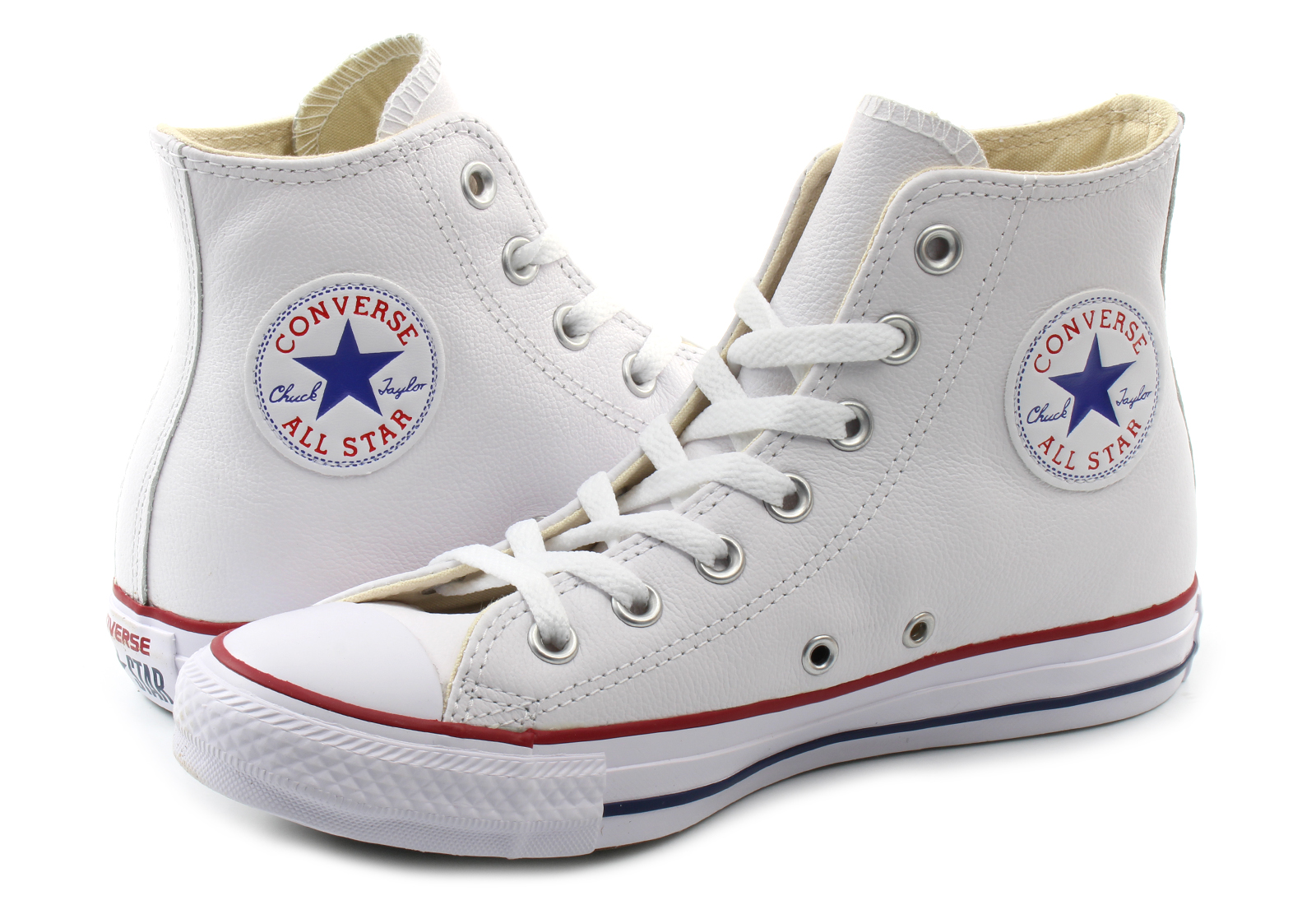 Converse Tornacipő - Ct As Core Leather Hi - 132169c - Office Shoes ... 5d593da322
