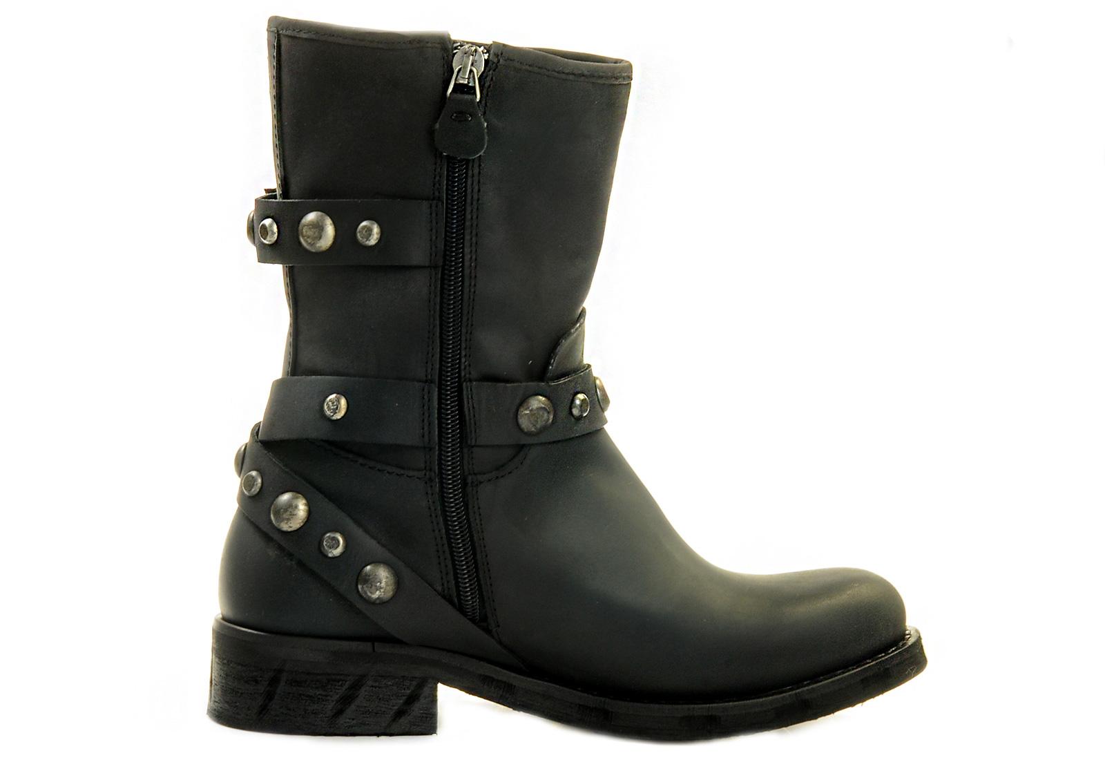 540ea0c54b Tommy Hilfiger Csizma - Biker 1a - 13f-6052-990 - Office Shoes ...