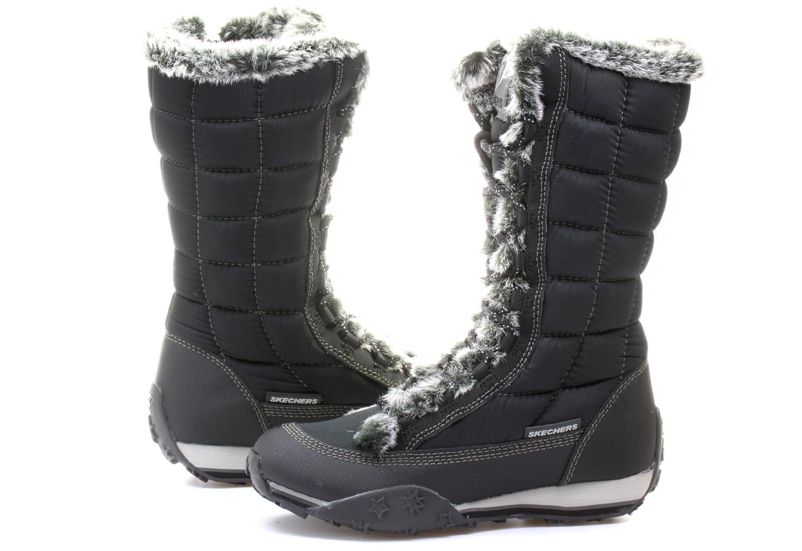 Skechers Boots - Boot High - 46476-blk - Online shop for sneakers ... 2ecd852d63