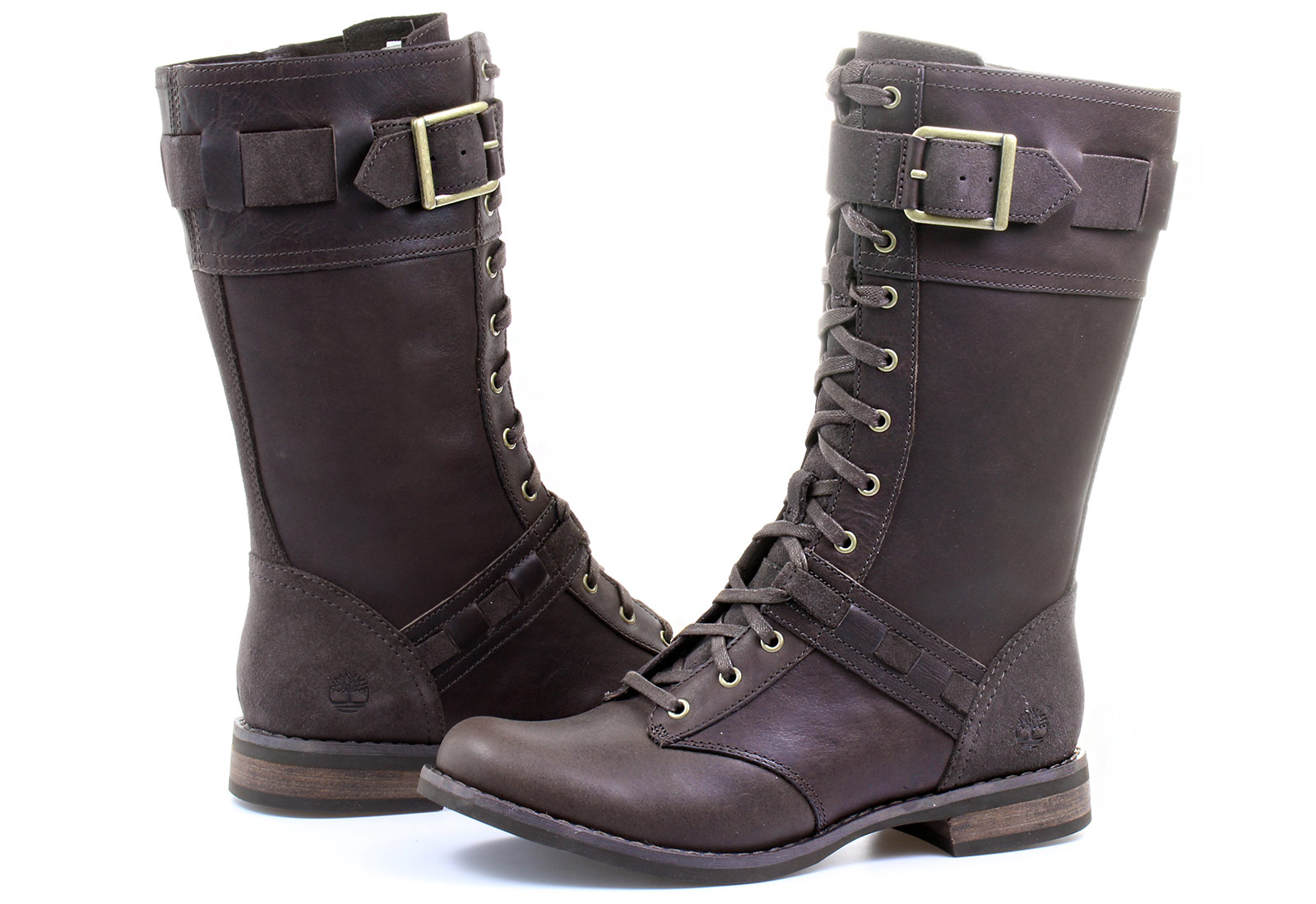 b25bca7704f Timberland Boots - Ek Savin Hill Mid - 8541R-DBR - Online shop for  sneakers, shoes and boots