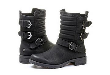 04b69d3a40 Blink Biker Boots Crne Čizme - Blink Cizme - Office Shoes - Online ...