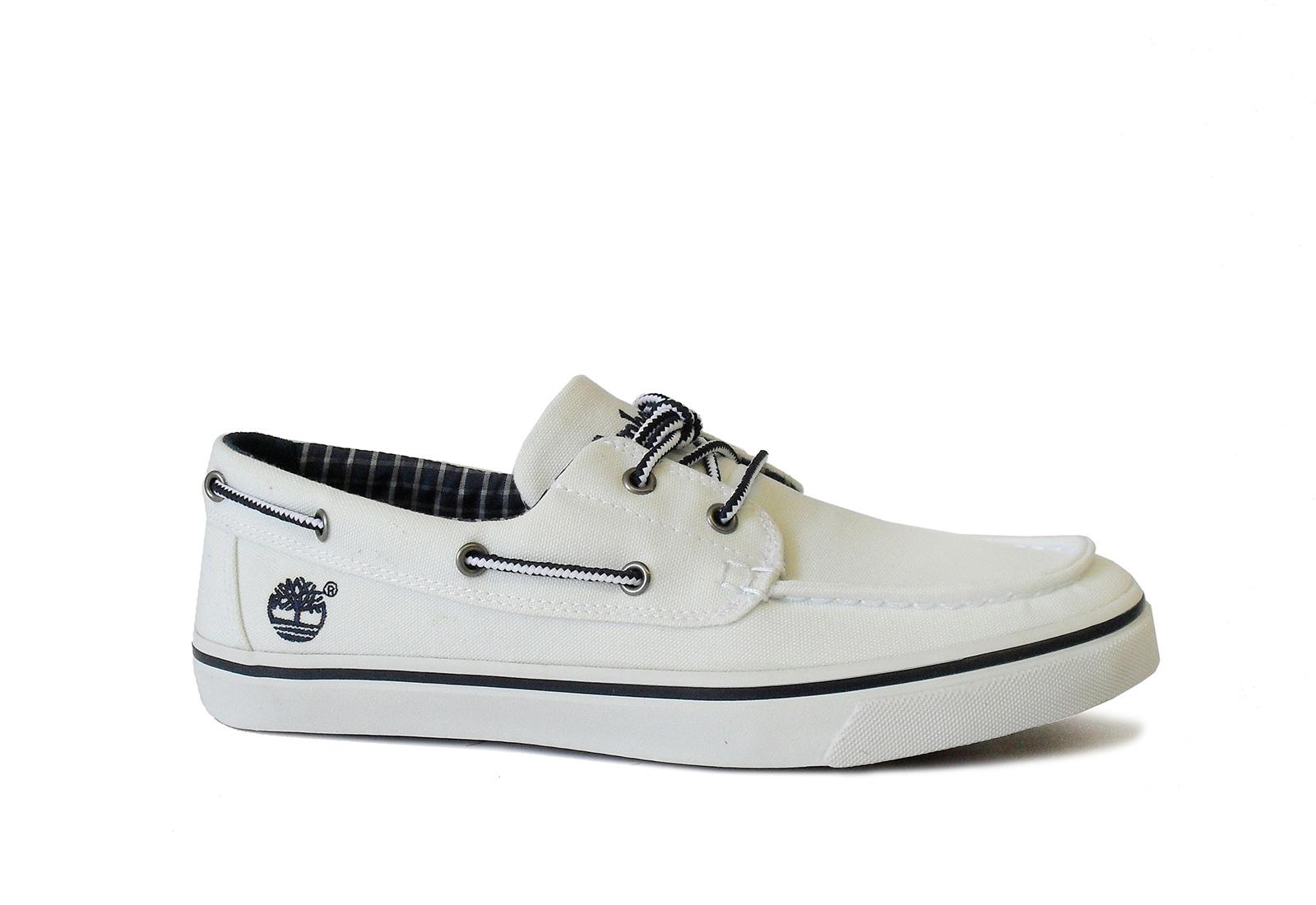 Timberland Cipő - Boatox - 6538R-wht - Office Shoes Magyarország 6d21abfad8