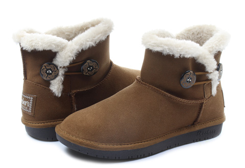 Skechers Vysoké Topánky, Čižmy Shelbys - Ottawa