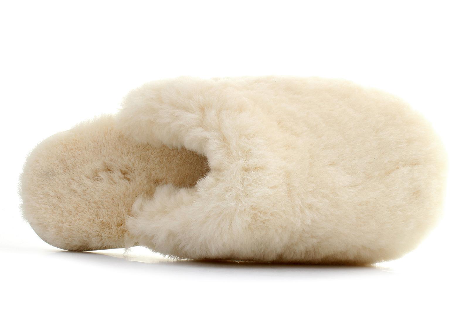 ugg fluff clog slippers