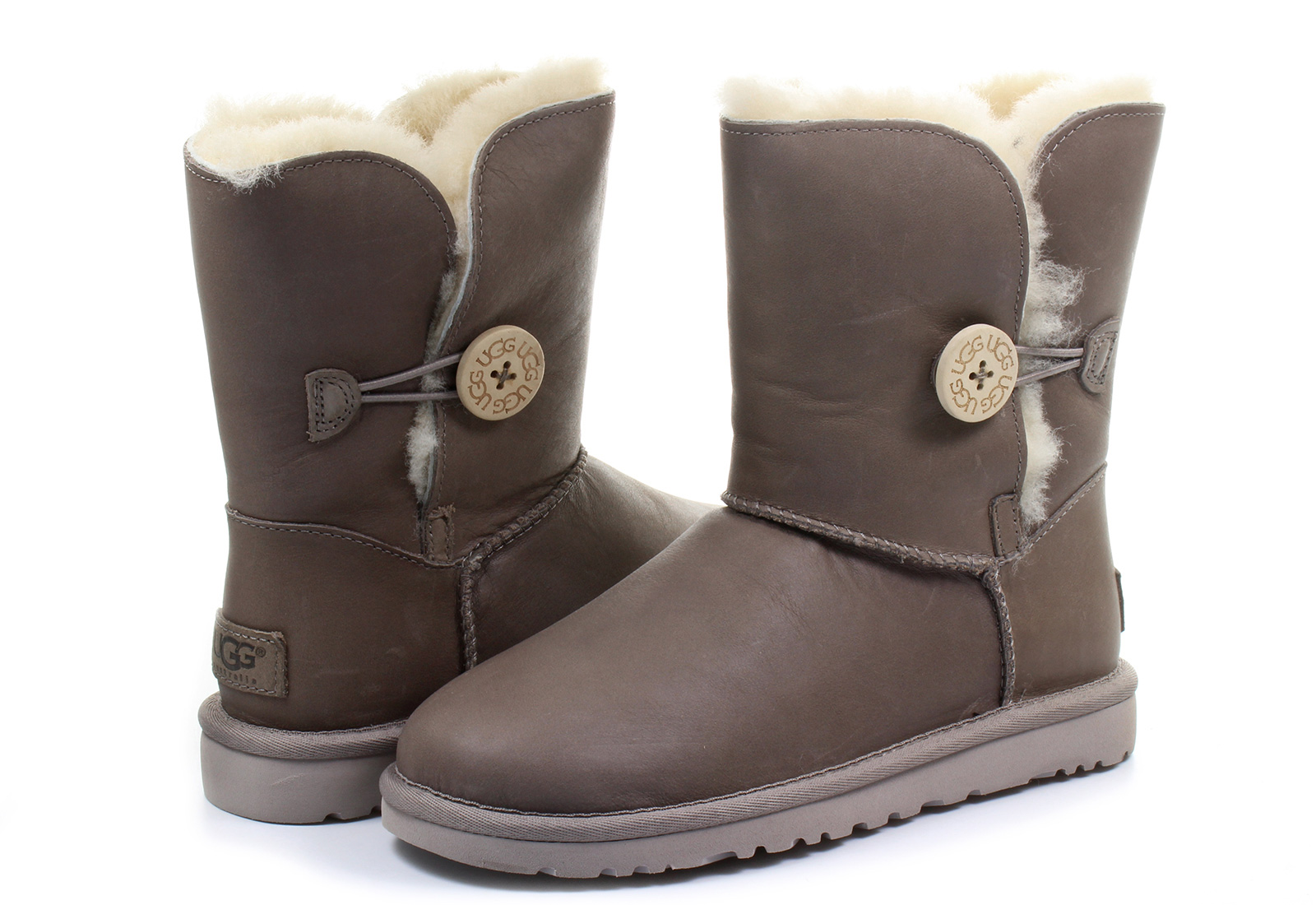 ugg boots w bailey button leather 1006593 fea