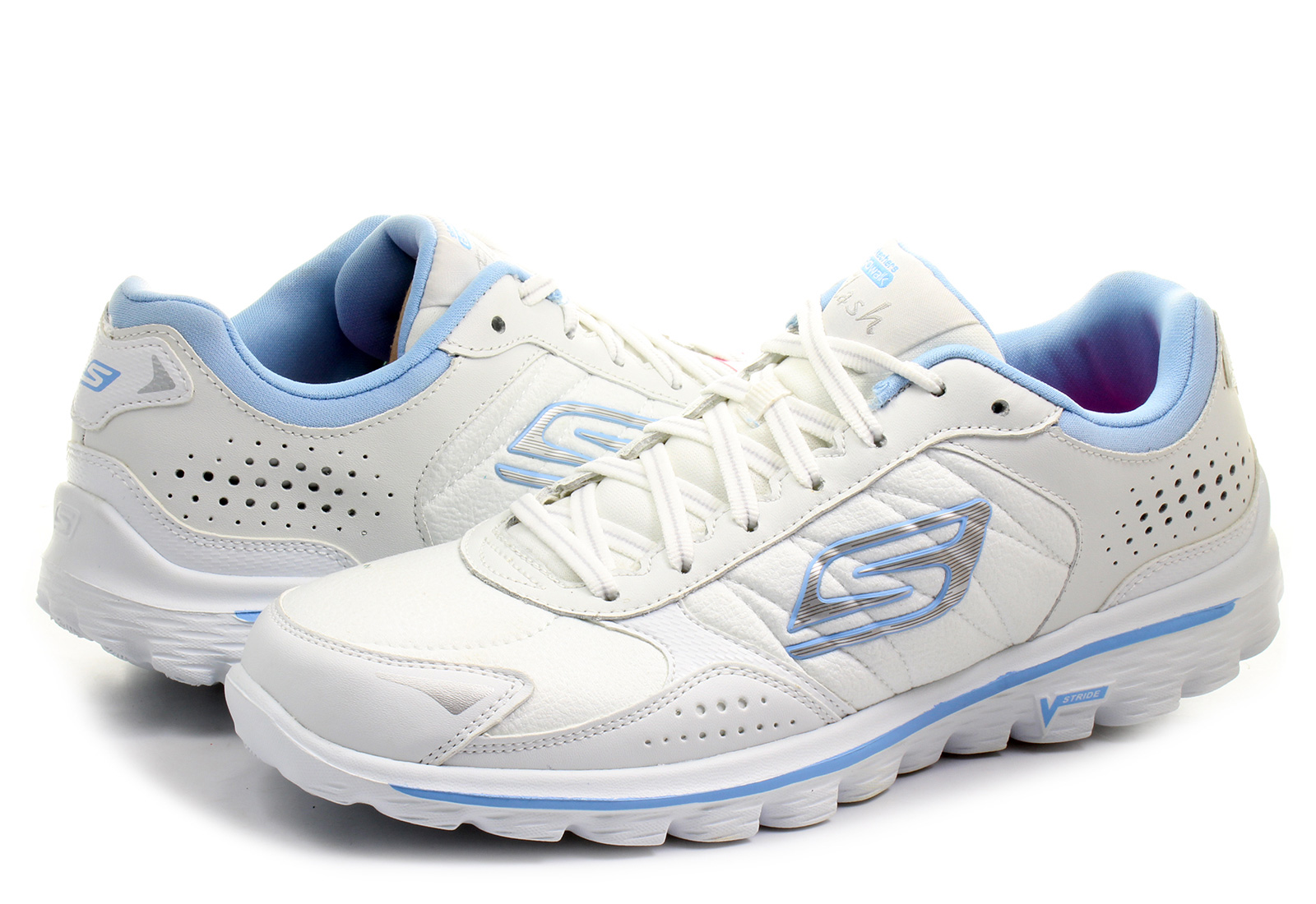 425c1bafa9cd Skechers Shoes - Go Walk 2 - Flash Lt - 13973-WLBL - Online shop for ...