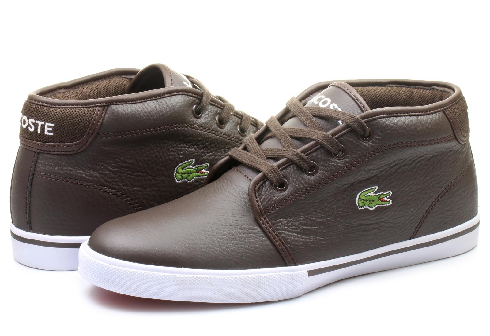Black Lacoste Street Shoe