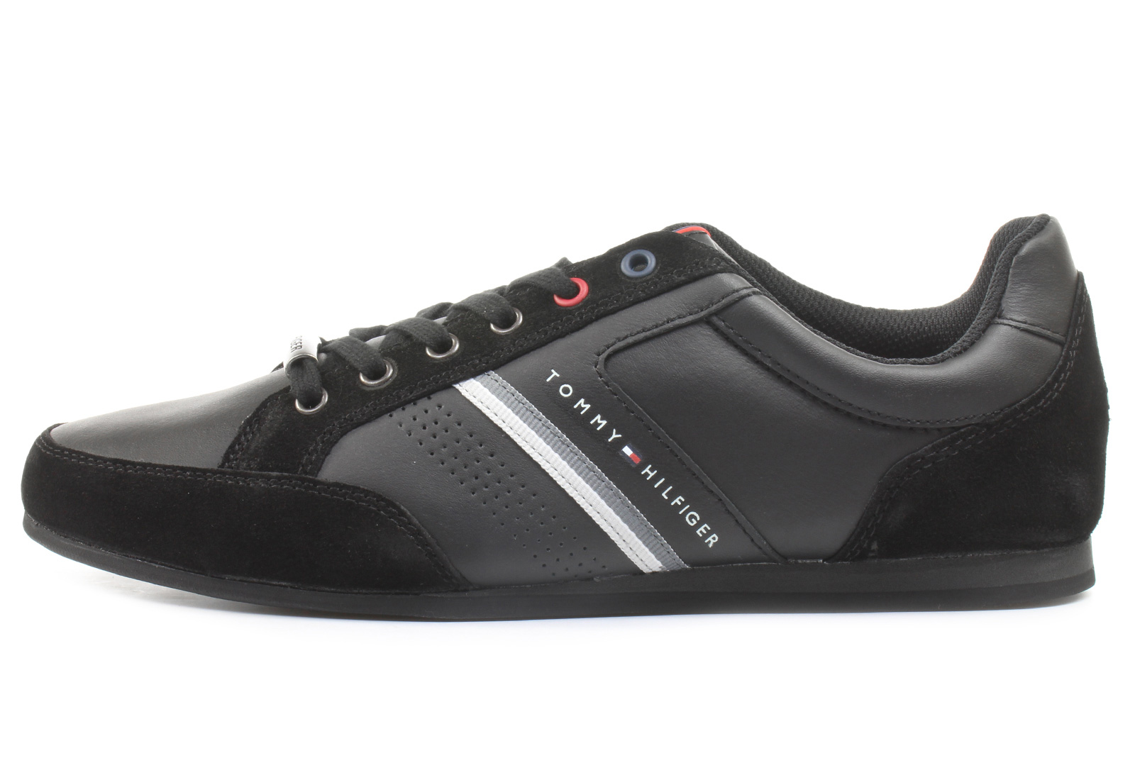 619e90f3bda55 Tommy Hilfiger Niske Tenisice Crne Tenisice - Ross 3c - Office Shoes ...