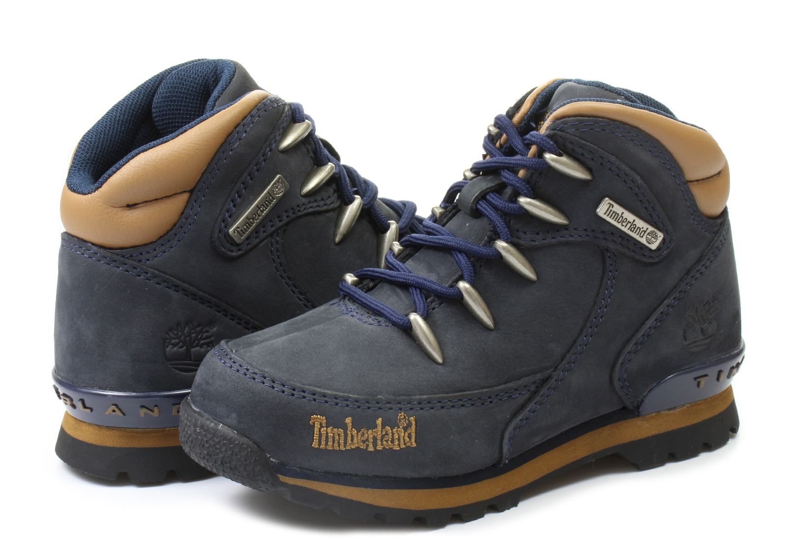 Timberland Bakancs - Euro Rock Hiker - 3082R-NVY - Office Shoes ... 62636d4033