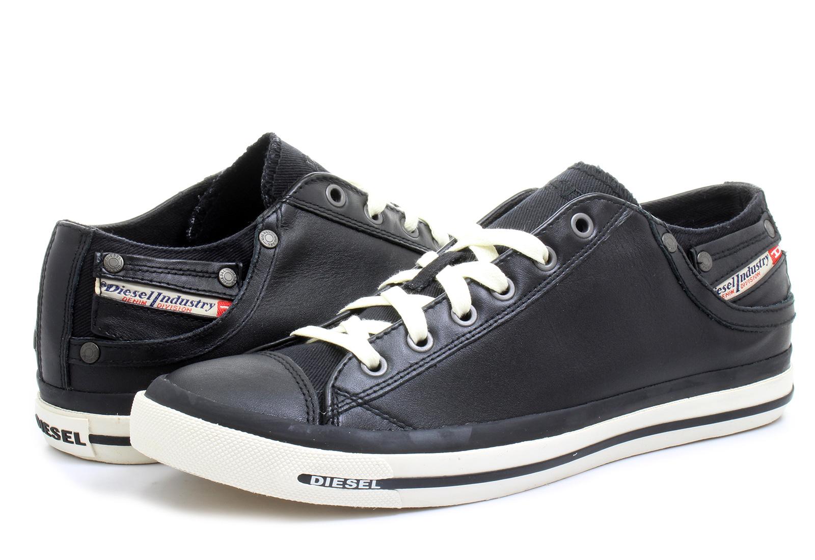 Diesel Cipő - Exposure Low I - 321-052-8013 - Office Shoes Magyarország 9ff0a0b8b9