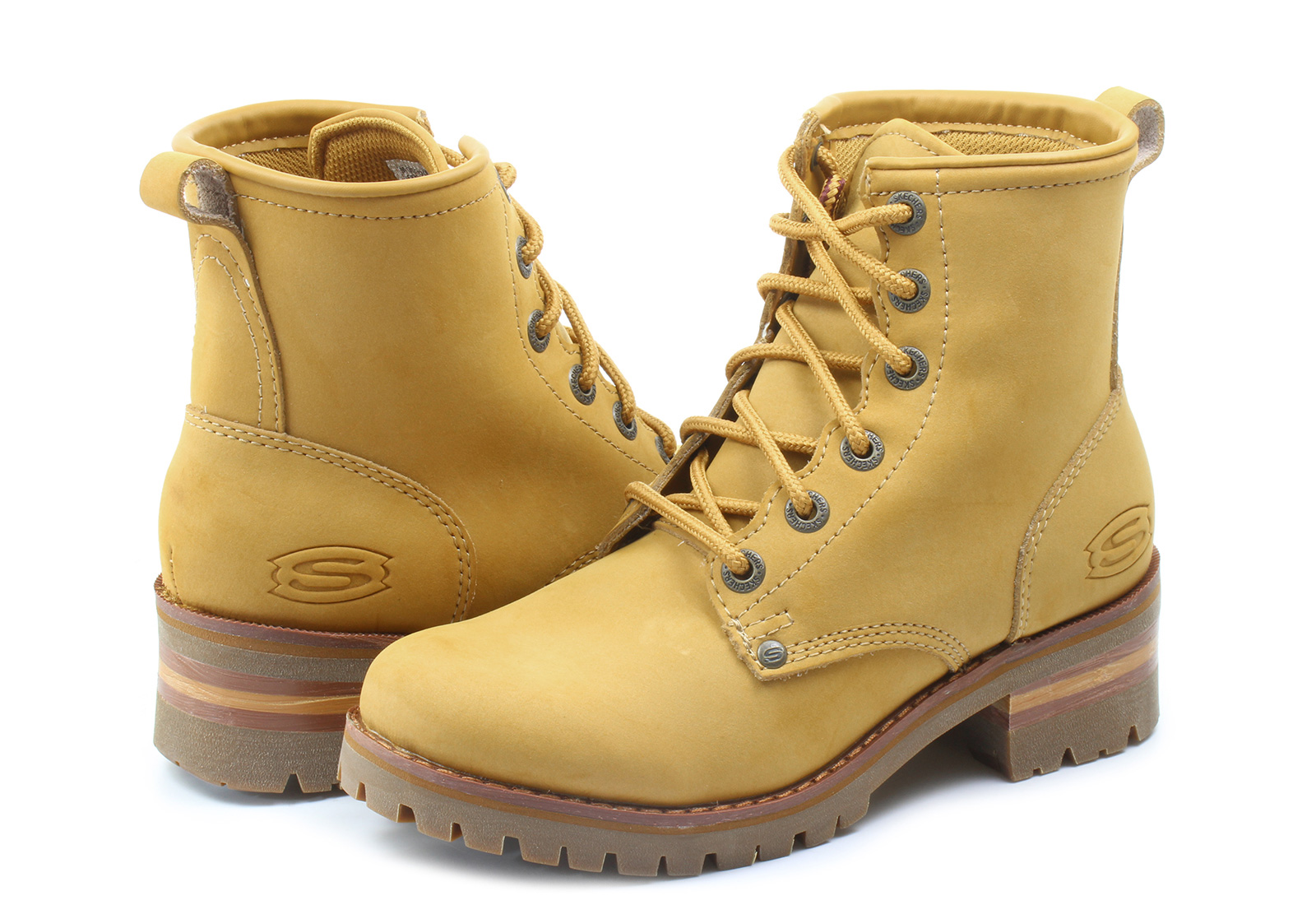 fca2f07c32e Buy skechers boots yellow > OFF66% Discounted