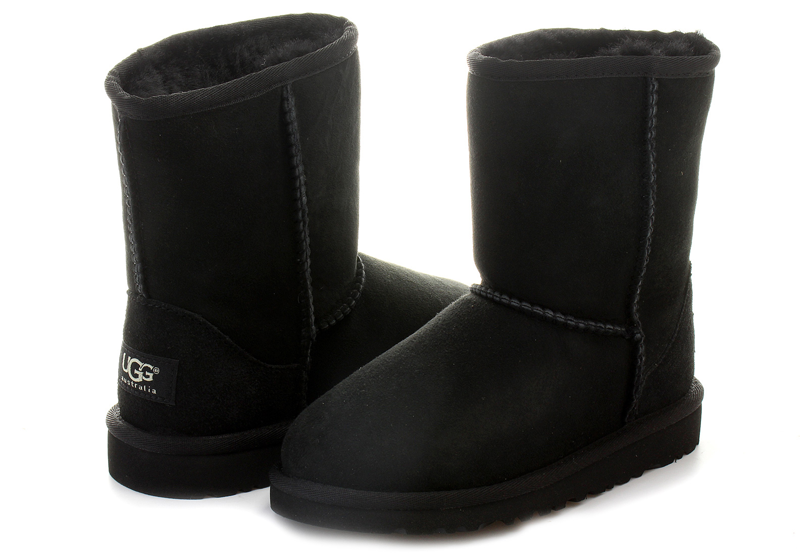 8c823a250 Ugg Boots - K Classic Short - 5251Y-BLK - Online shop for sneakers ...
