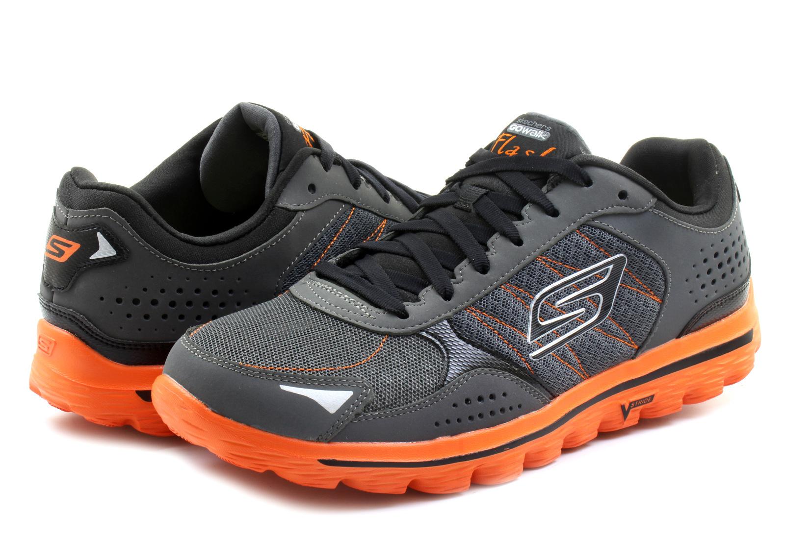 Skechers Topánky - Go Walk 2 - Flash - 53960-CCOR - Tenisky c6b39e9f75