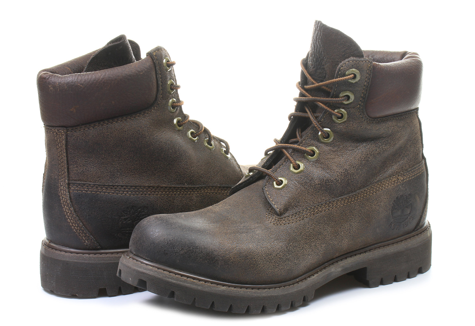 Timberland Boots - 6 Inch Premium Boot - 6062R-DBR - Office Shoes ... 9e4631e586