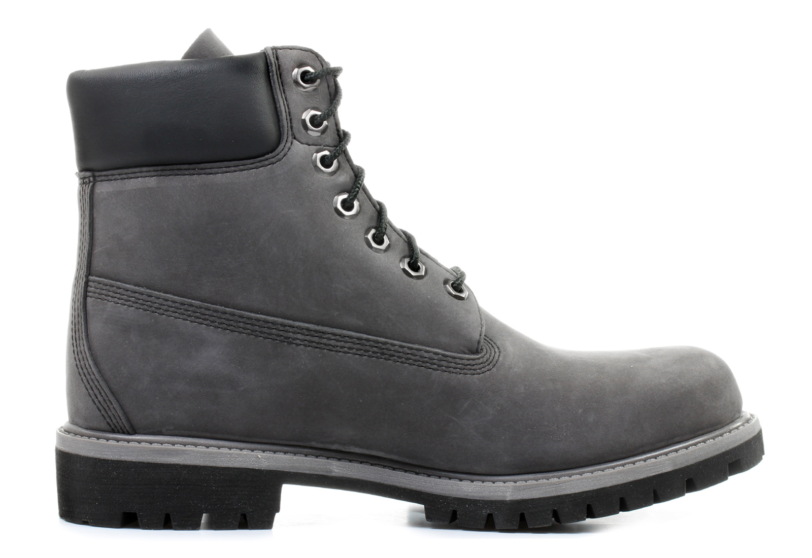 timberland men's boot 6 inch premium 6609a grey black