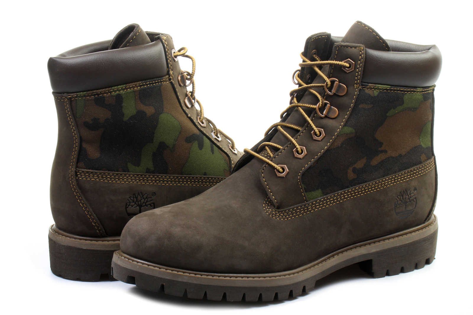 Timberland Topánky - 6 Inch Premium Boot - 6618A-BRN - Tenisky ... dff216bb786