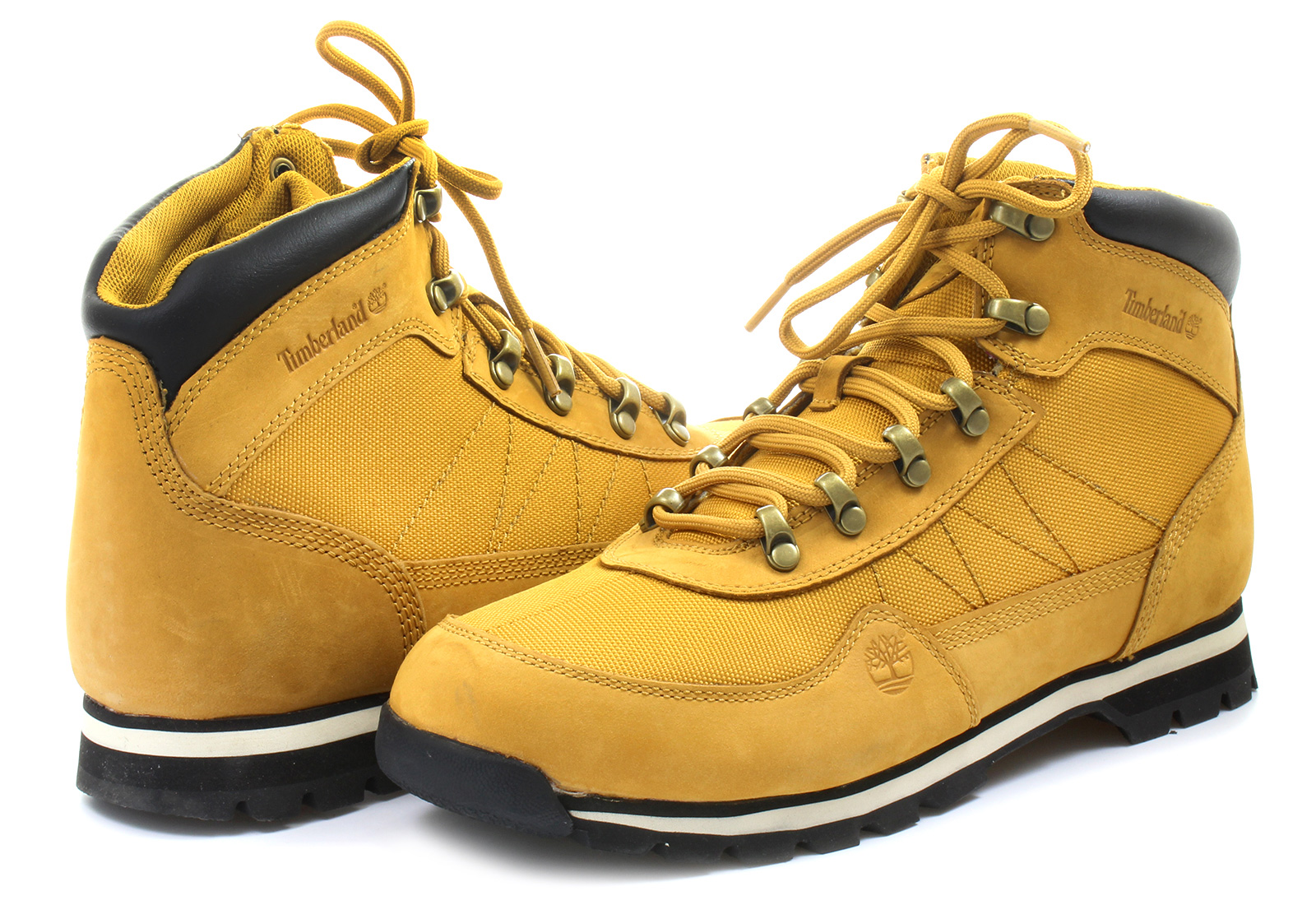 Timberland Topánky - Euro Hiker Fabric W leather - 6658A-WHE ... cd01833a68a