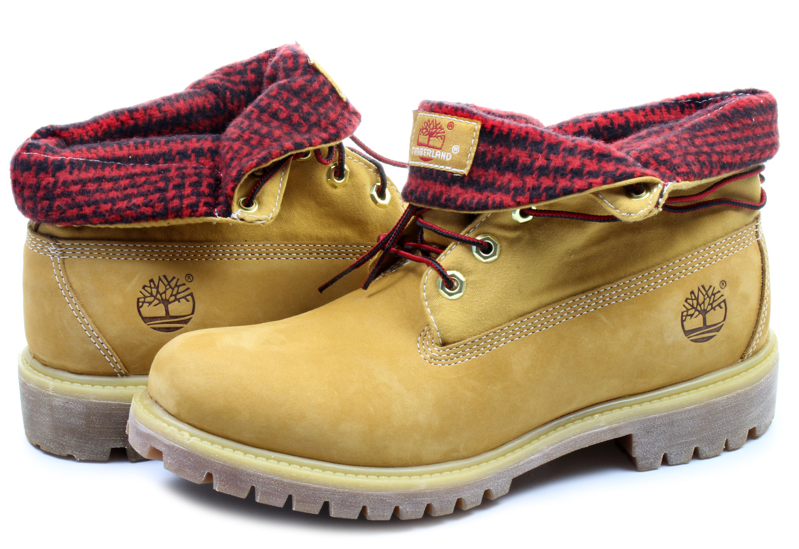 568b49a6cdf Timberland Boty - 6 In Roll-top - 6837A-WHETenisky