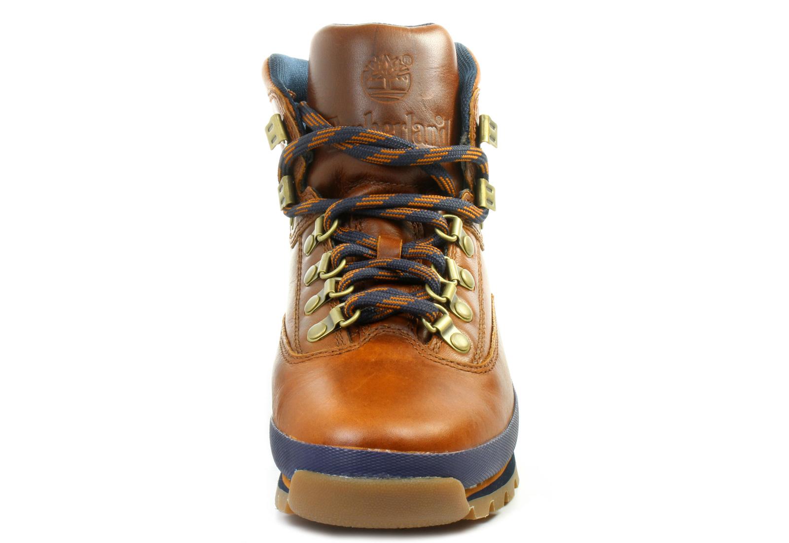 Fantastic Timberland Black Euro Sprint Hiker Leather Boots In Black For Men