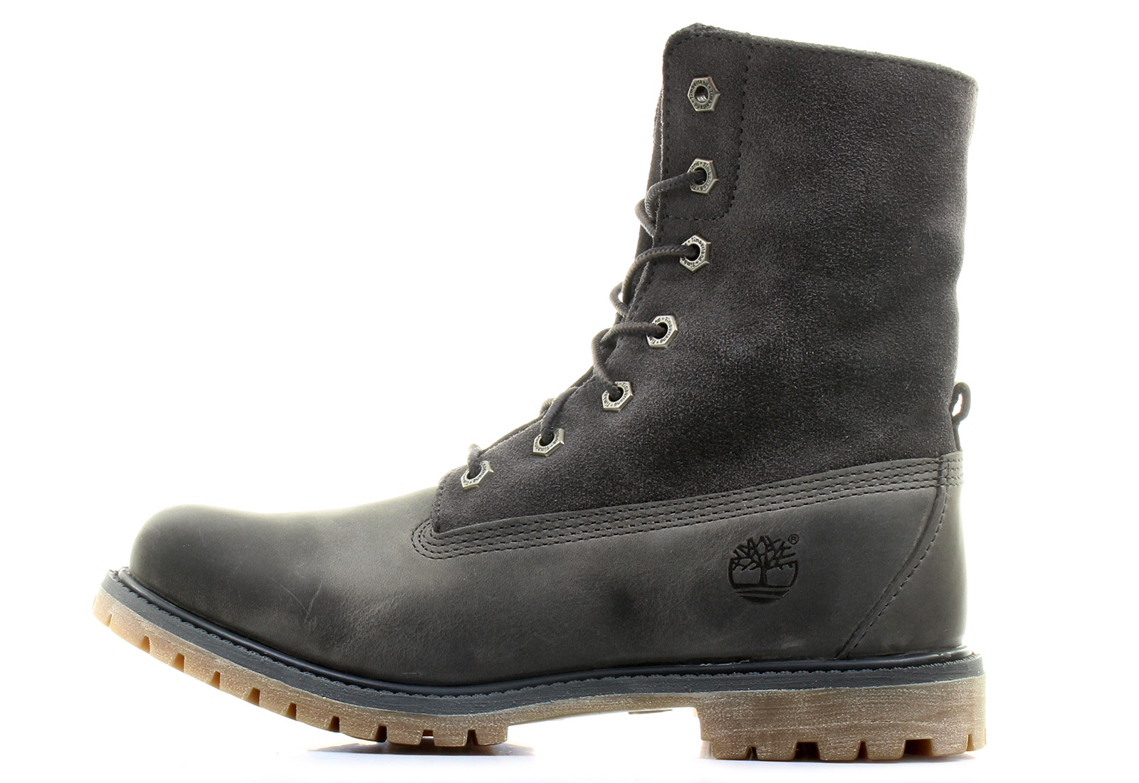 timberland boots authentics suede roll top 8308a gry