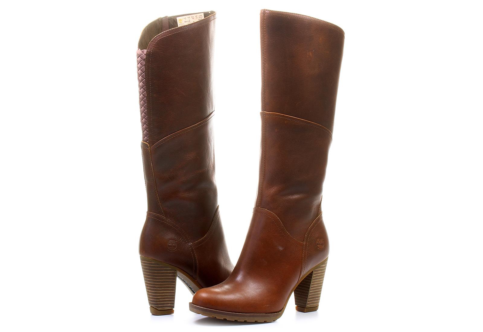Timberland Kozačky - Stratham Heights Tall Boot - 8611A ... da844b91f1