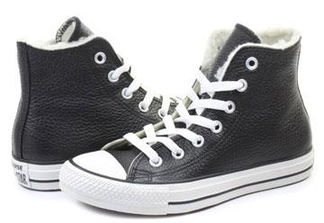 73eb47e159547 Converse Tenisky - Chuck Taylor All Star Leather Fur Hi - 144726C ...