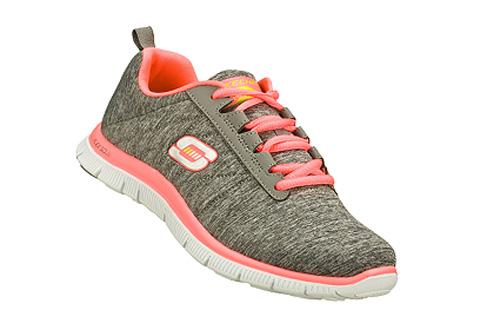 Skechers Sportske Siva Patike Skechers Patike Flex Appeal Next Generation Office Shoes