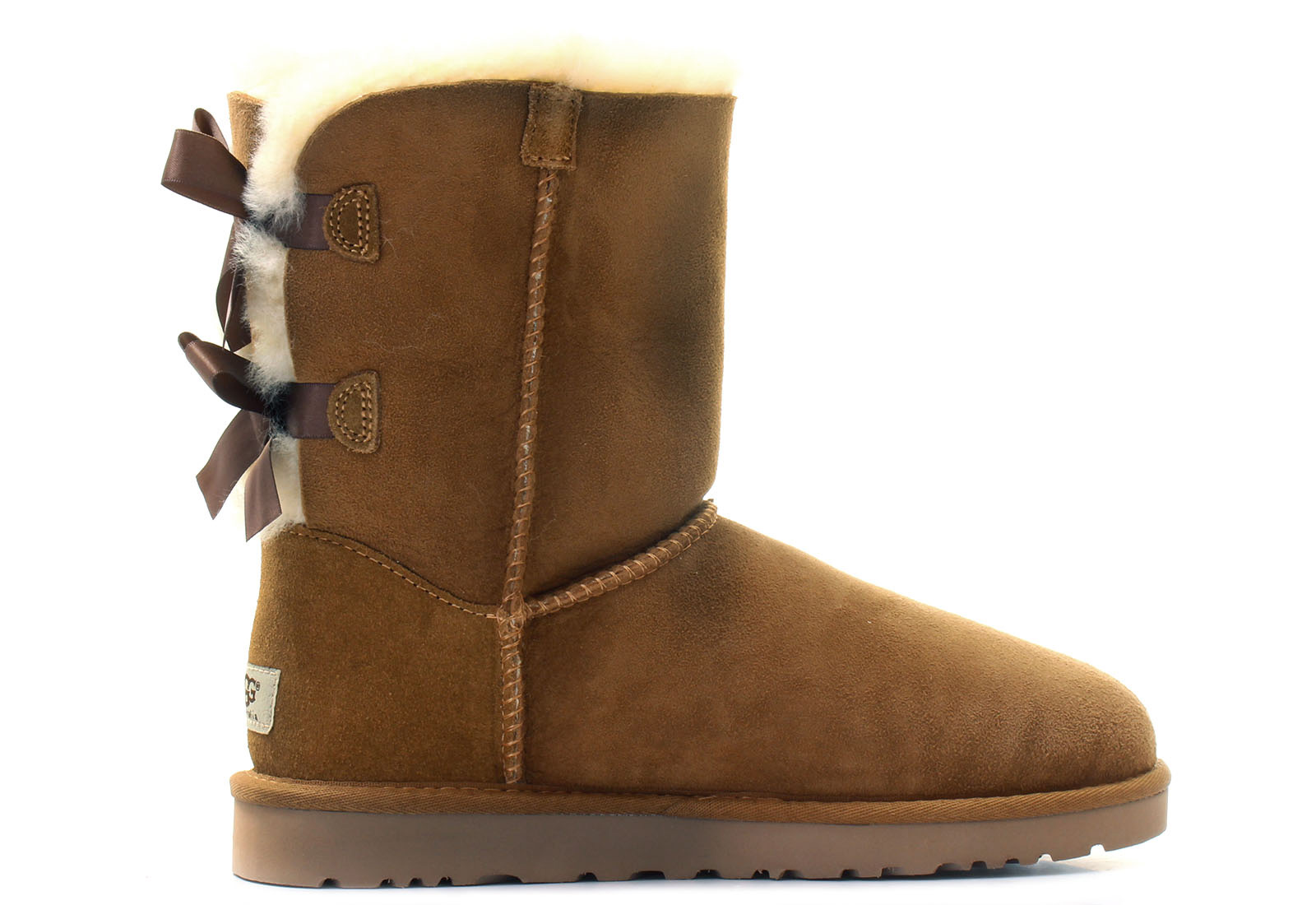 Bow Brown Shoes Boots