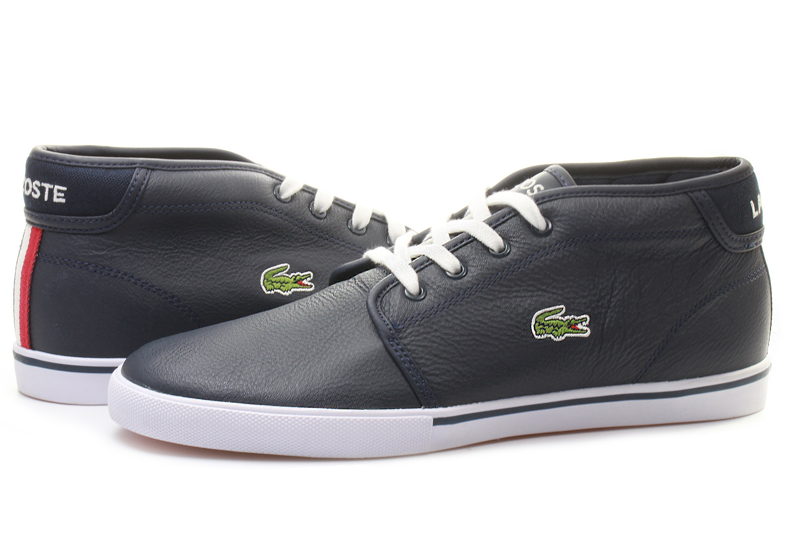 lacoste shoes ampthill 141spm1004 db4 online shop for sneakers shoes and boots. Black Bedroom Furniture Sets. Home Design Ideas
