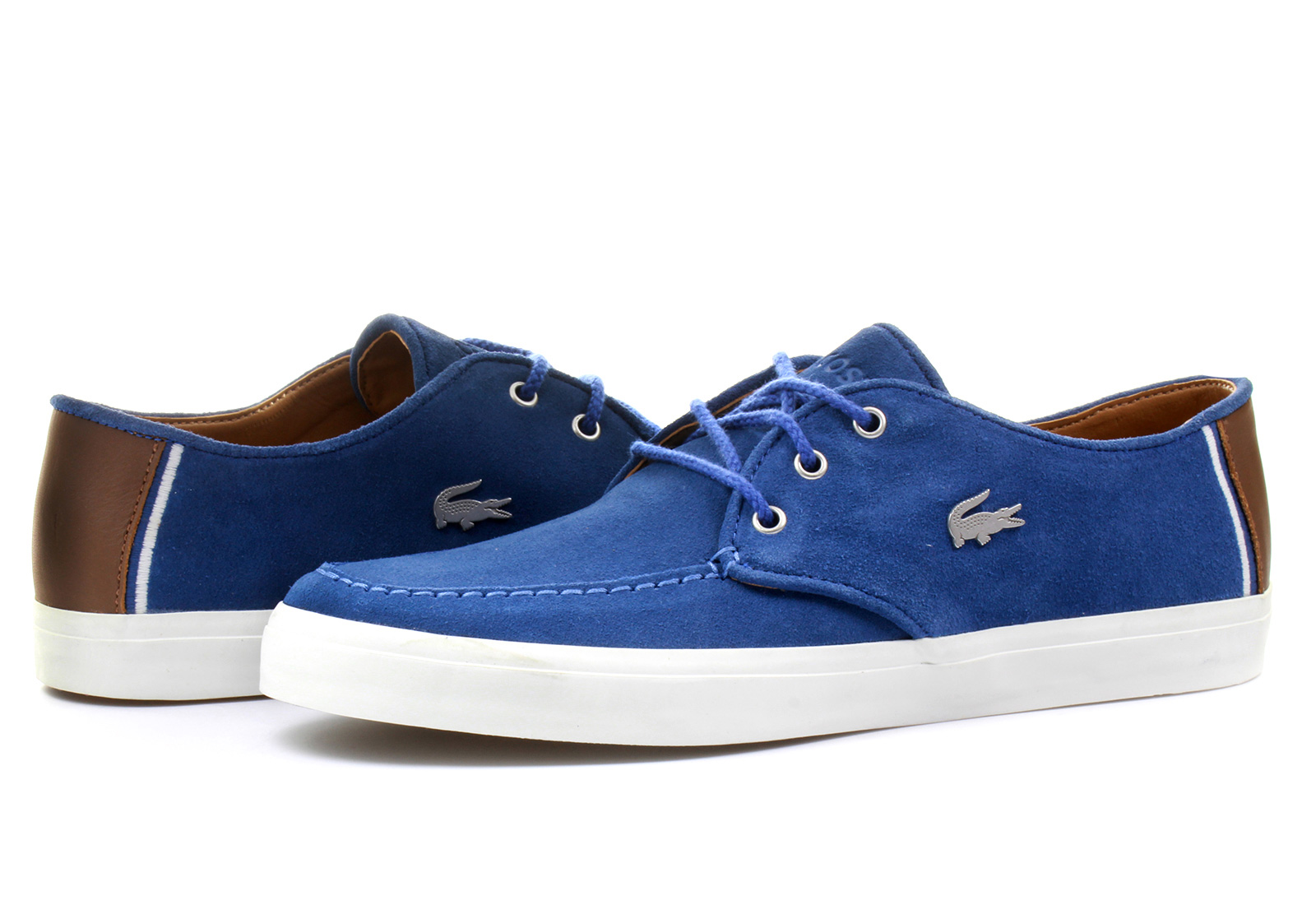 Lacoste Blue Boat Shoe