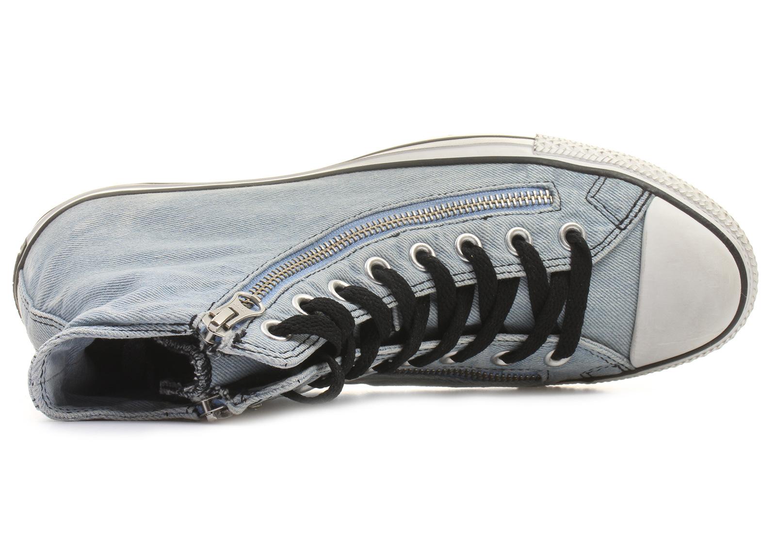 fb08b1ae29562d Converse Sneakers - Chuck Taylor All Star Double Zip Denim Hi ...