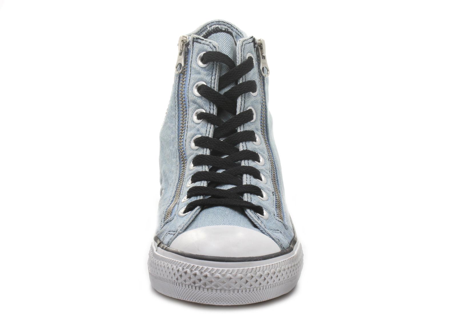 Converse Tenisky - Chuck Taylor All Star Double Zip Denim Hi ... 3991c8816d