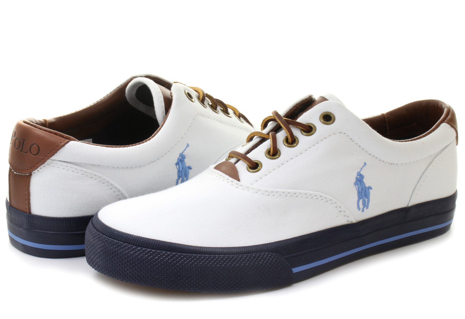 Polo Leather Tennis Shoes