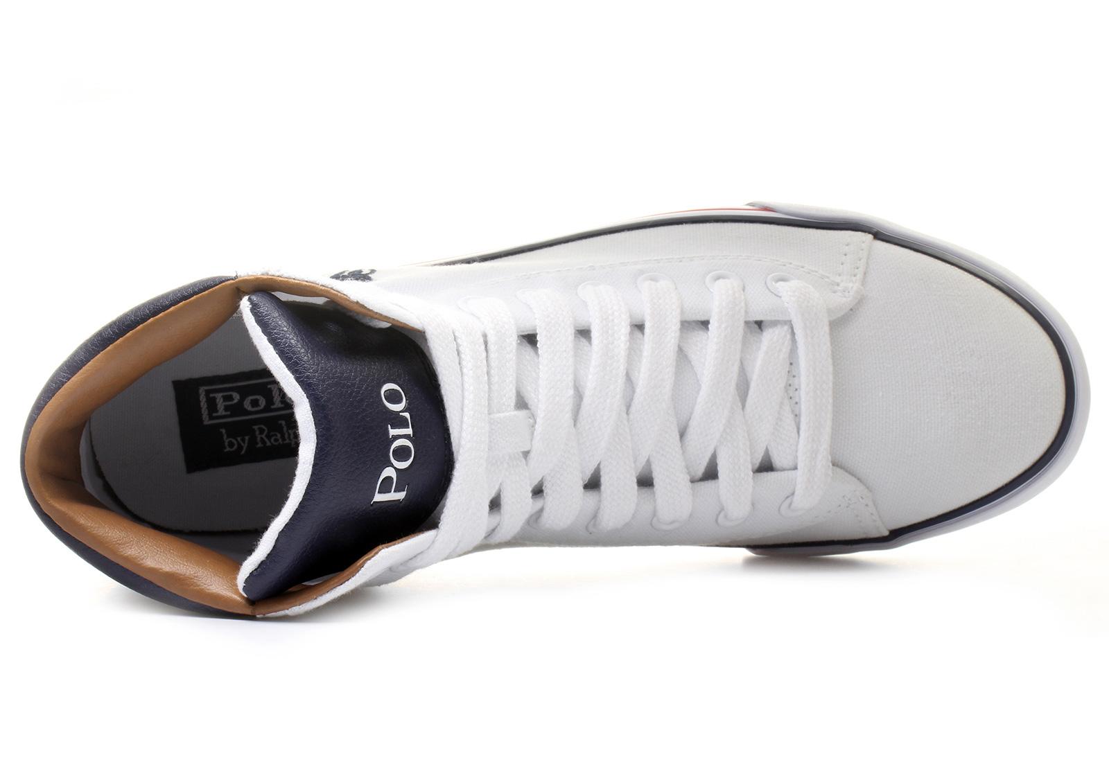 Polo Ralph Lauren Tenisky - Harvey Mid - 295-c-w1433 - Tenisky ... df81ca91b71