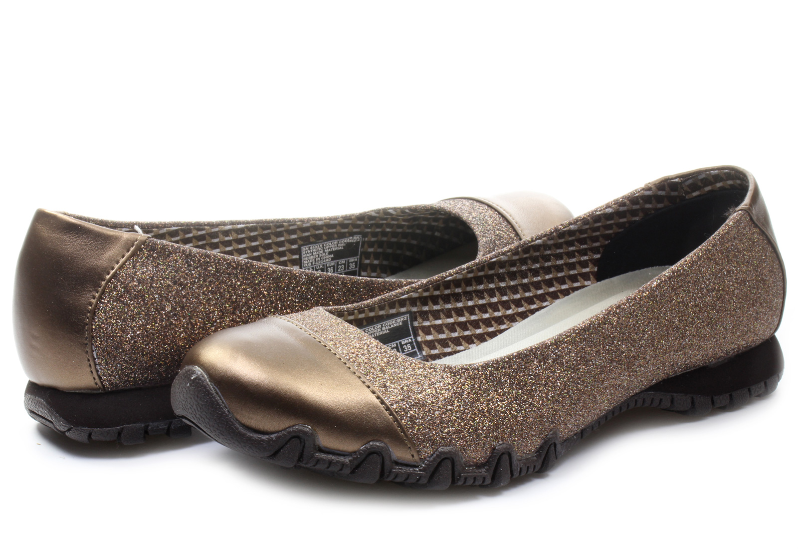 Skechers Ballerinas - Glitzy Sparkle - 48915-brz - Online shop for  sneakers, shoes and boots