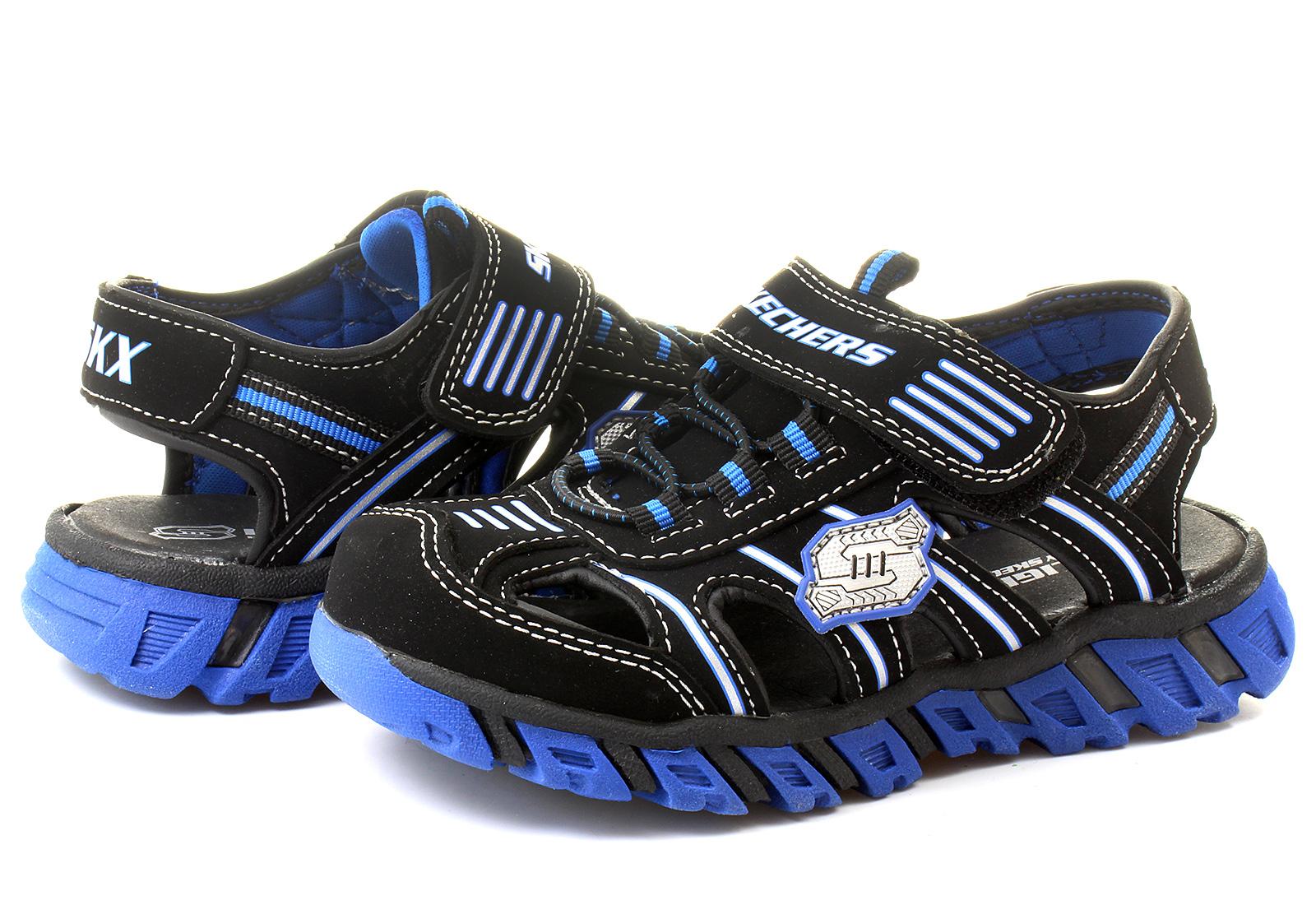 skechers sandals pillar sandal 90415l bkry