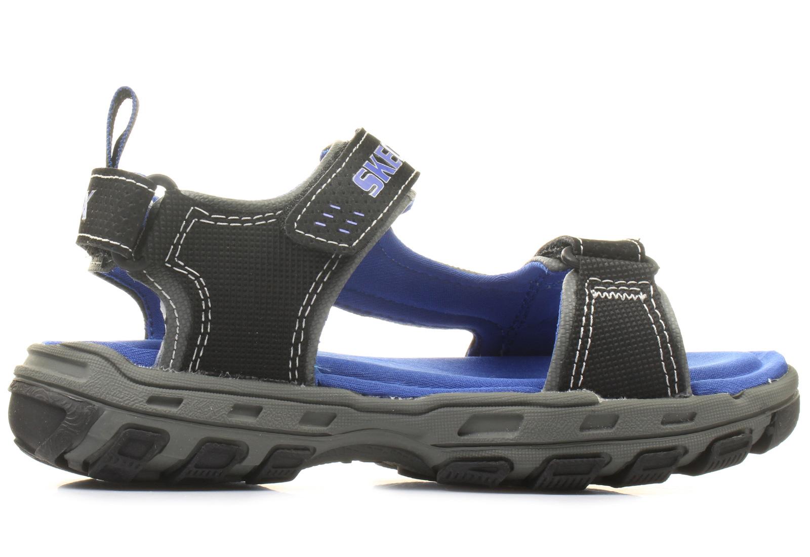 skechers sandals gander 97150l bkry shop for